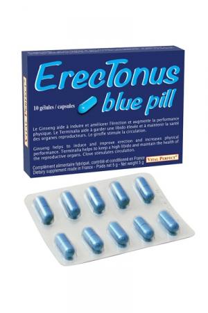 Erectonus Blue Pills - 10 gélules