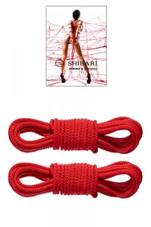 Set 2 cordes Shibari - Demoniq