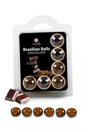 6 Brazilian Balls - chocolat