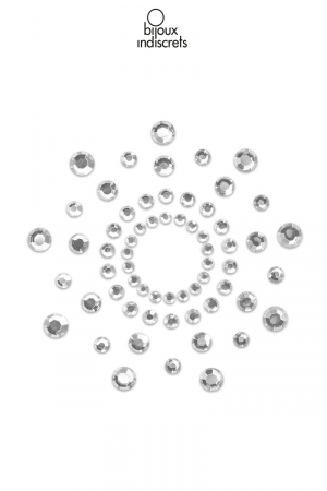 Bijoux de seins Mimi argentés