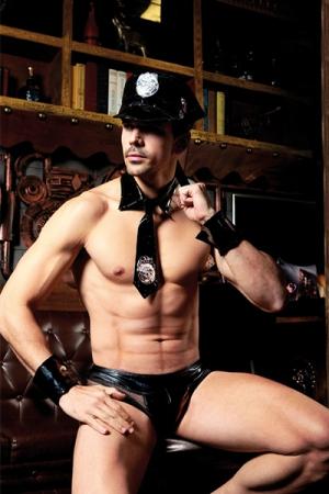 Déguisement sexy policier 5 pièces