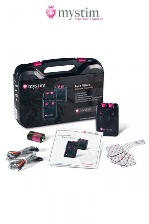 Malette électro-stimulation Pure Vibes 3 fonctions - Mystim