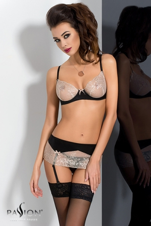 Lotus ensemble lingerie - Noir