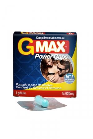 G-Max Power Caps Homme (1 gélule)