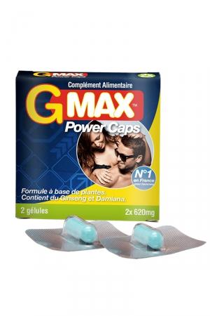 G-Max Power Caps Homme (2 gélules)