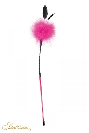 Plumeau à caresses rose - Sweet Caress