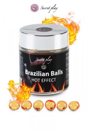 6 Brazillian balls - effet chaleur