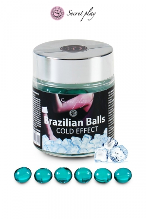 6 Brazillian balls - effet frais