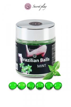 6 Brazillian balls - menthe