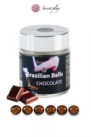 6 Brazillian balls - chocolat
