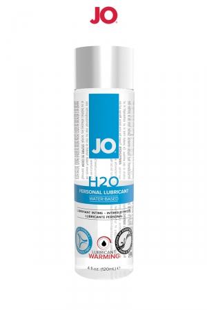 Lubrifiant H2O effet chaud 120 ml