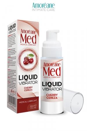 Lubrifiant Liquid Vibrator Cerise 30ml - Amoreane Med