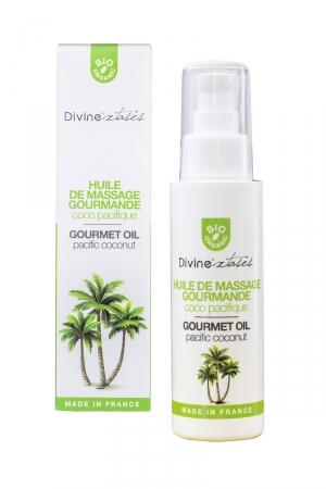 Huile de massage Bio Coco Pacifique - Divinextases