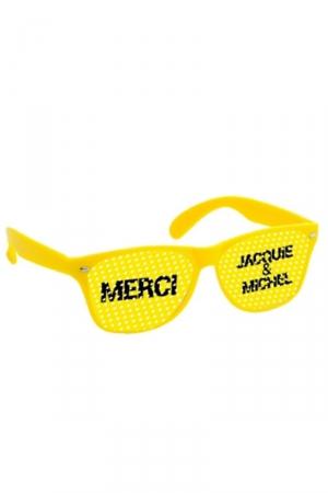 Lunettes jaune jaune - Jacquie & Michel