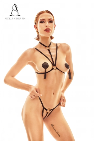 Harnais lingerie Delici - Angels Never Sin