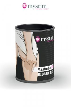 MasturbaTIN Ribbed Rita - Mystim