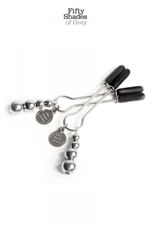 Bijoux de seins réglables - Fifty Shades Of Grey
