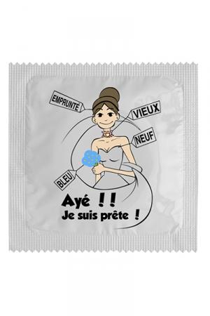 Préservatif humour - Ayé Je Suis Prête