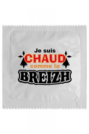 Préservatif humour - Chaud Comme La Breizh